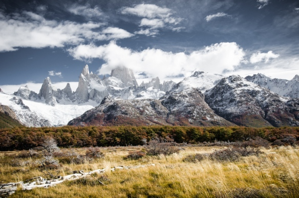 Corre Fitz Roy in Patagonia, Argentina